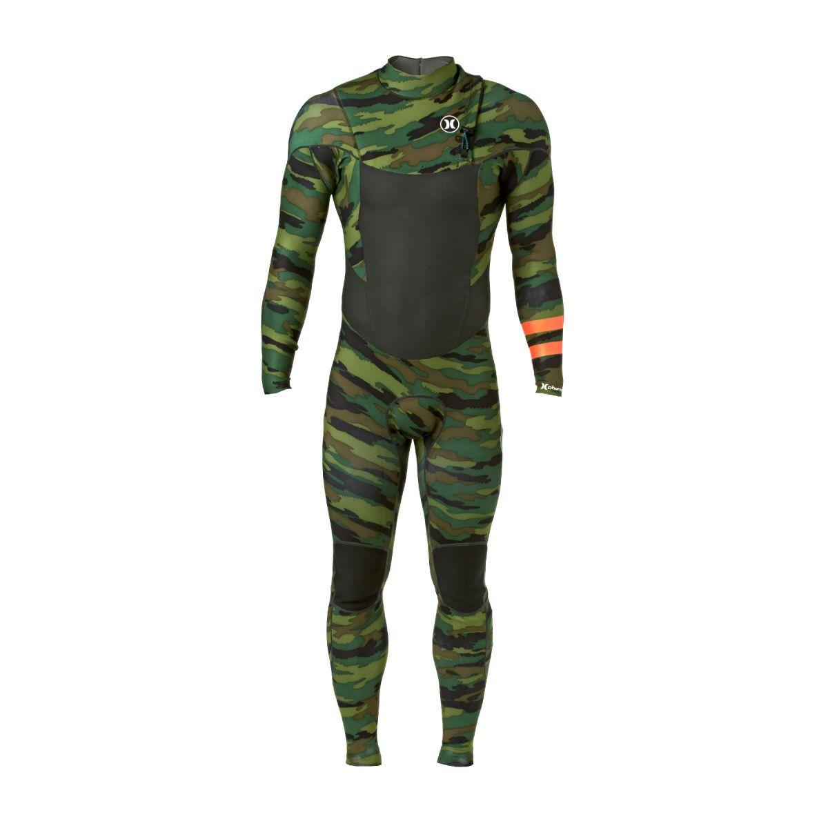 Hurley Phantom Limited 2mm Zipperless Wetsuit - Deepest Green