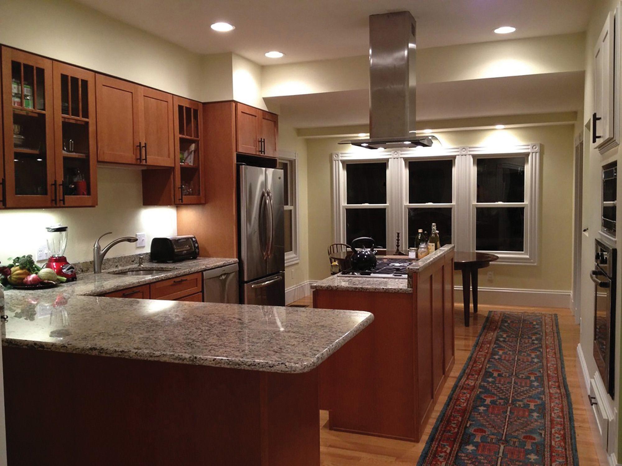 Somerville Massachusetts Kitchen Renovation Features Cliqstudios