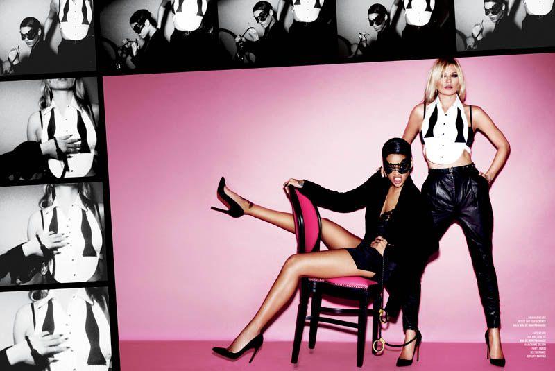 Kate Moss & Rihanna