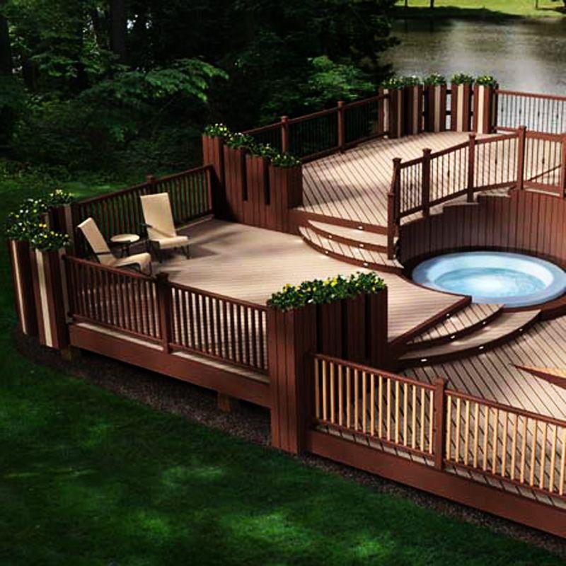 WPC outdoor floor waterproof and moisture,flame retardant