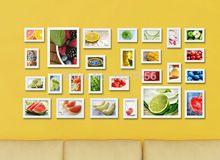 Mq4r10 baño arte decoración , blanco Collage de la pared enmarca titular, madera grupos 26(China (Mainland))