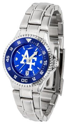 Air Force Academy Falcons - United States Competitor Anochrome - Steel Band W/ Colored Bezel - Ladies by Sports Memorabilia. $87.08. Makes a Great Gift!. Air Force Academy Falcons - United States Competitor Anochrome - Steel Band W/ Colored Bezel - Ladies