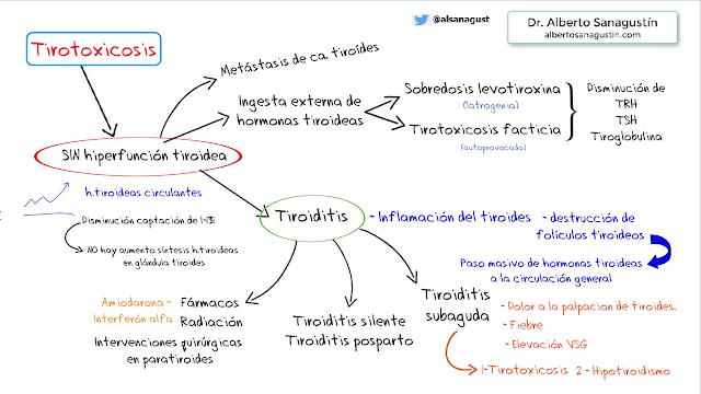 tirotoxicosis fisiopatología de la diabetes
