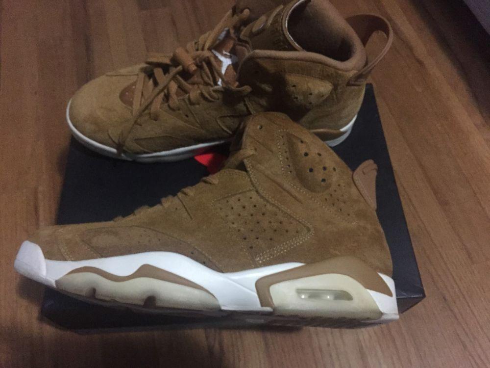 f483b6365f15 Mens Air Jordan VI 6 Retro Wheat Golden Harvest (Size 11) Mens  fashion   clothing  shoes  accessories  mensshoes  athleticshoes (ebay link)
