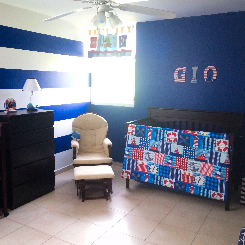 Gio's nautical nursery ❤️⚓️