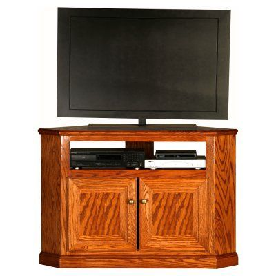 Eagle Furniture Classic Oak Customizable 46 In Tall Corner Tv Stand