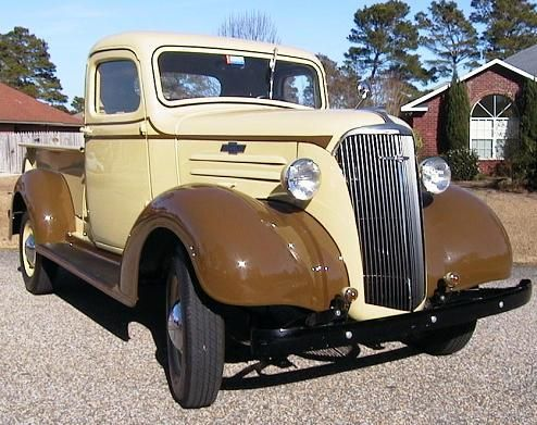 This 1934 Chevy 15 ton Flatbed Truck would make a great project