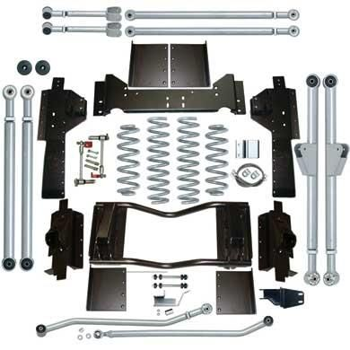 4 5 Extreme Duty Long Arm Lift Kit Rubicon Express Jeep Grand