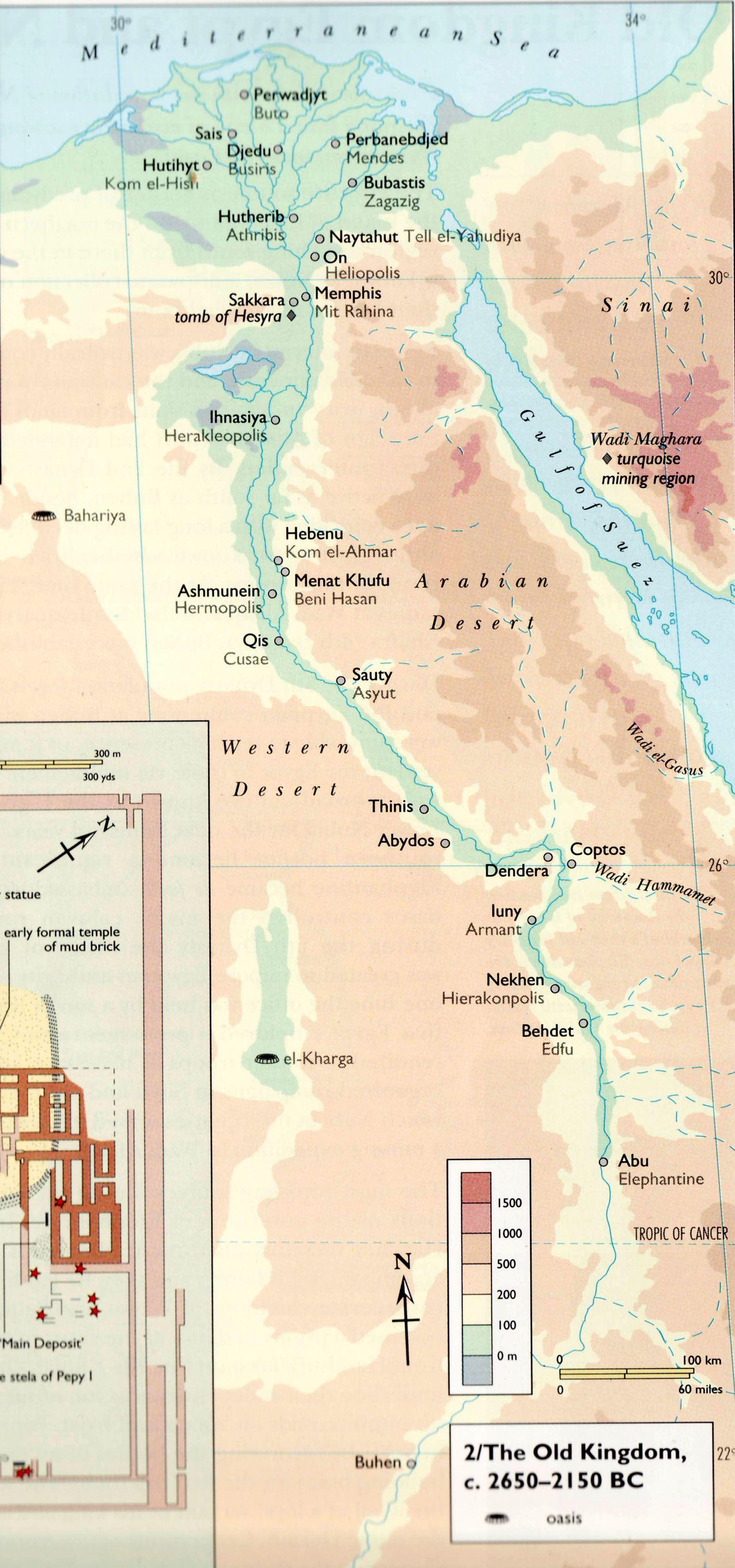 egipat mapa Egipat staro kraljevstvo mapa 2 | Ancient Egypt | Pinterest  egipat mapa