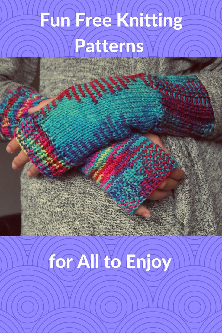 My Favorite Fun Free Knitting Patterns   Knit patterns, Knit crochet ...