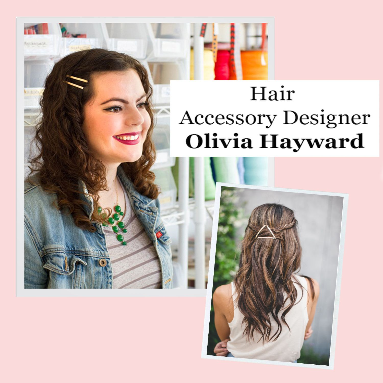 Meet Olivia Hayward, designer of hair accessory brand, Mane Message #kissandwear #kwbabe #lovewhatuwear #westcoastcool #eastcoastchic #fashion #accessories #kissandwearclique