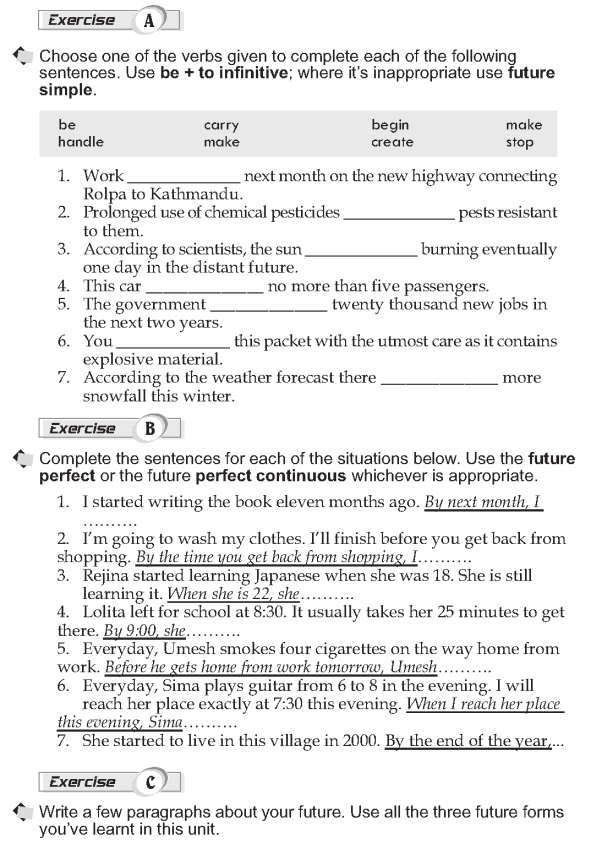 Grade 10 Grammar Lesson 13 Other Future Forms 2 Teaching