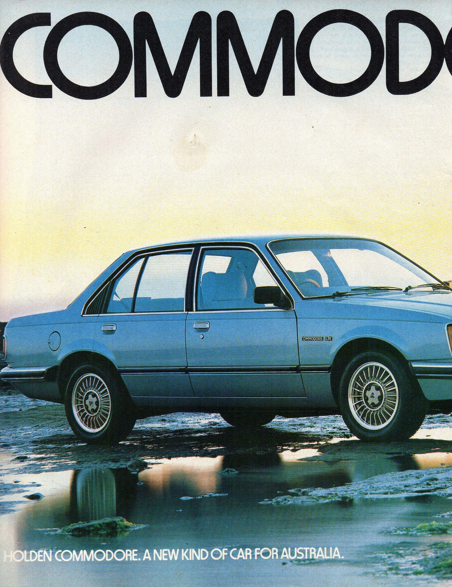 1979 Vb Holden Commodore Sl E Sedan Page 1 Aussie Original Magazine
