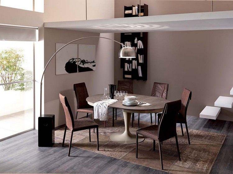 Runde Esstische Als Design Highlight: Modern Und Ausziehbar #ausziehbar # Design #esstische #highlight #modern #runde