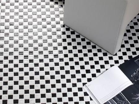 Mozaika Szklana Czarna Biala Plytki Podlogowe 4923518207 Oficjalne Archiwum Allegro Mozaic Tile Floor Home Decor