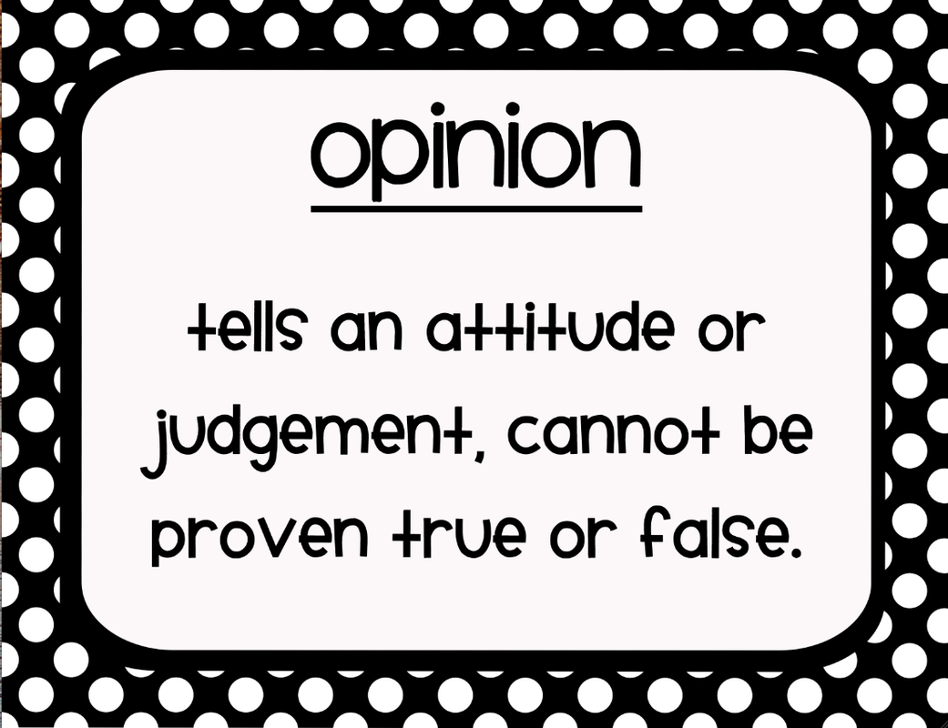 Opinions Vs Truth