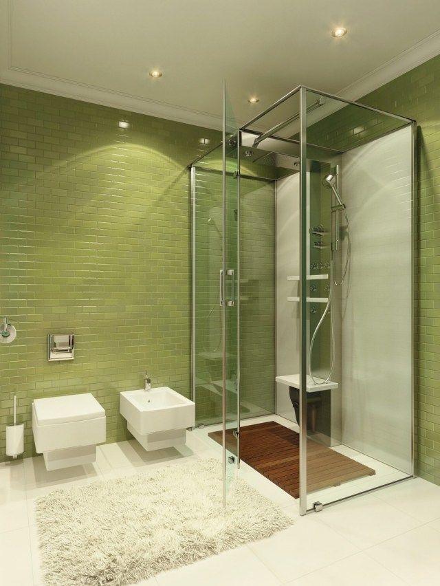 25 ides douche litalienne pour une salle de bain moderne - Caillebotis Pour Salle De Bain