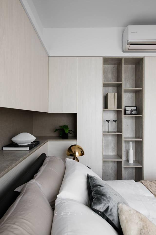 Master Bedroom Millwork Details //contemporary, Modern
