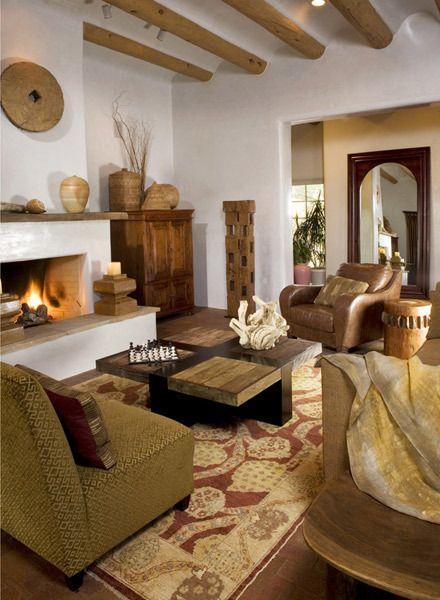 Santa Fe New Mexico Usa Southwest Living Home Home Decor