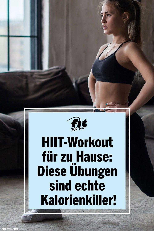 HIIT-Workout für zu Hause: Diese Übungen sind echte Kalorienkiller! #workoutchallenge