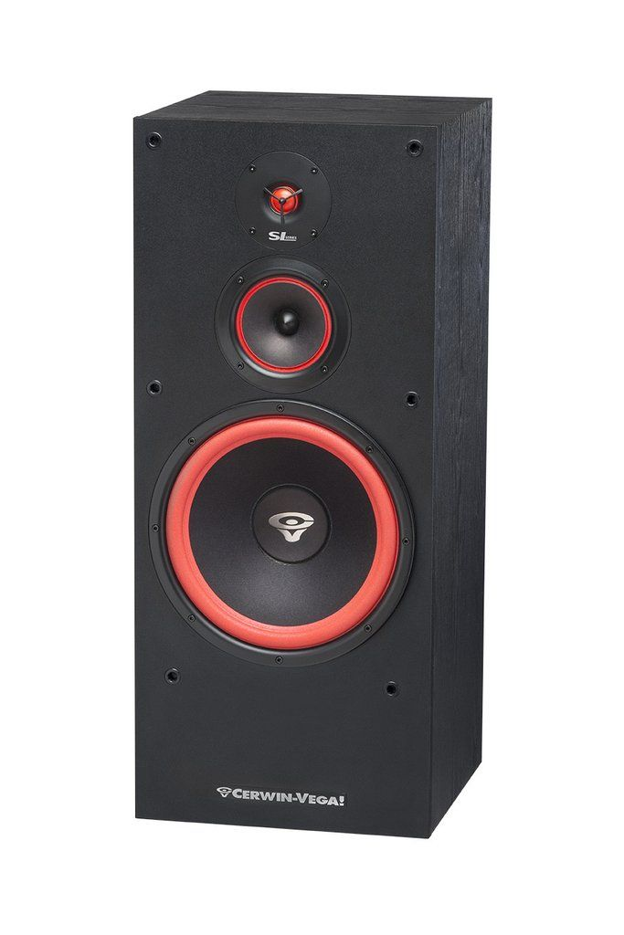 Cerwin Vega Sl 12 12 3 Way Floor Standing Tower Speaker 400 Watts New Speaker Supply Floor Speakers Vega Speaker