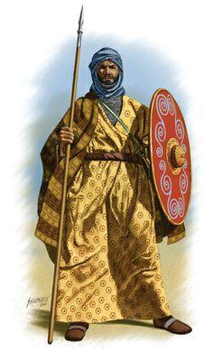 Arabischer Krieger, 7. Jahrhundert