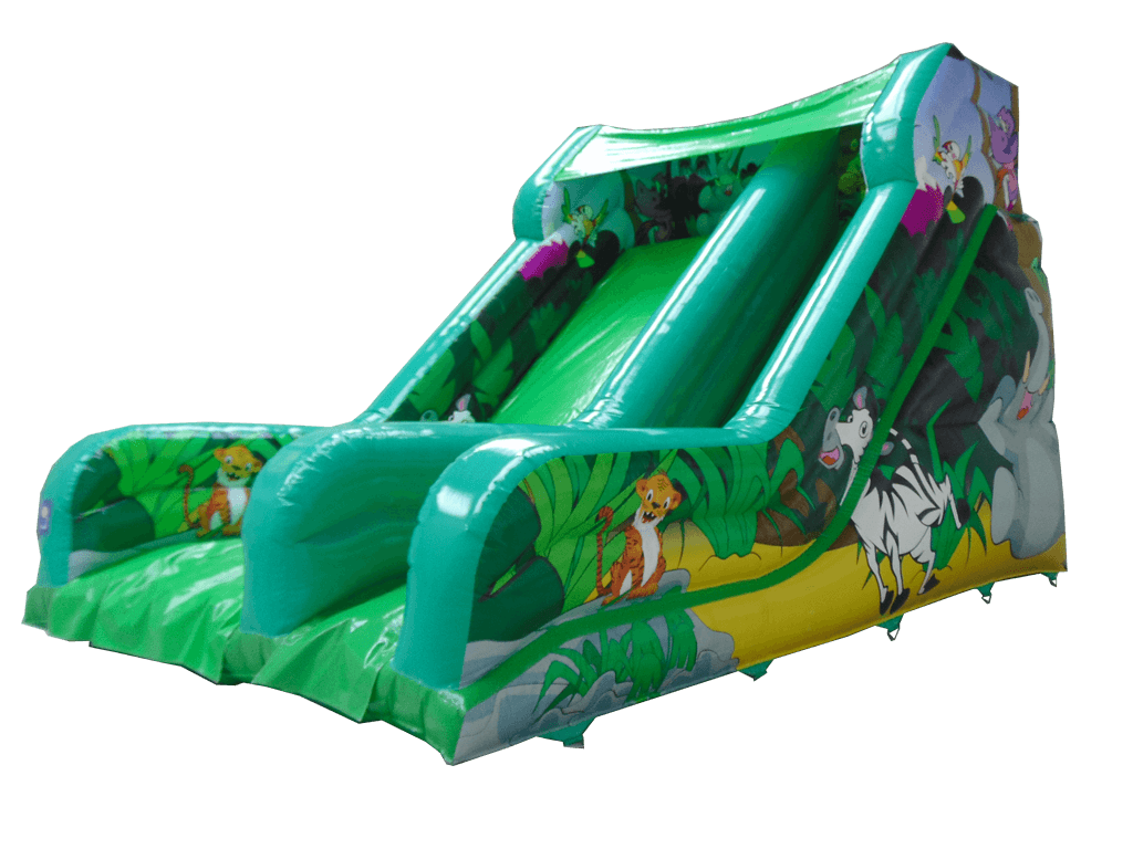 12ft Platform Slide Aq2567ju Airquee Inflatable Softplay