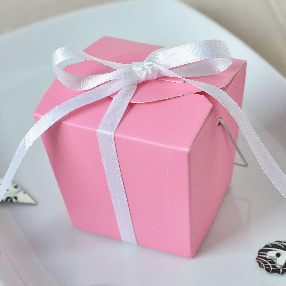Take Out Box- Set of 12 Pink Take Out Box | Box sets, Party wedding ...