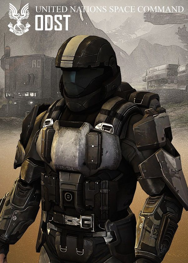 ODST by Rykker o7   metal posters   Character portraits ...
