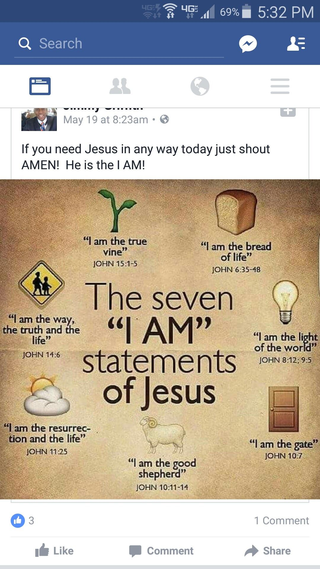 I am Sayings in John Visual | Sunday School helps | Pinterest