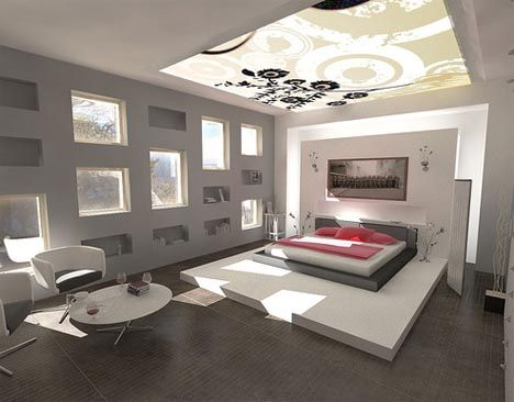 Lavish Modern Bedroom Ideas Modern interiors Bedrooms and Modern
