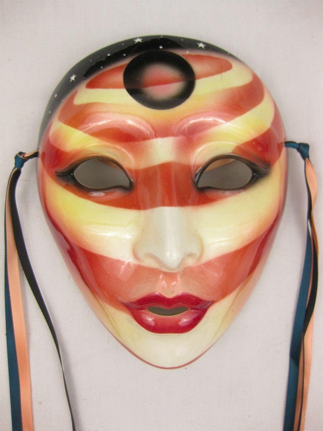 Clay art Mask San Francisco Co. Clay art, Mask, Carnival