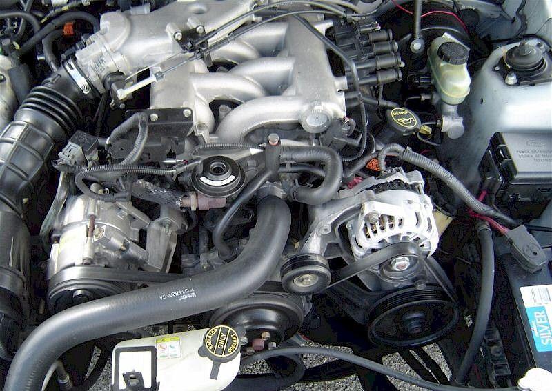 2002 Ford Mustang Engine 3 8 L V6 Base For Sale 2002 Ford Mustang Mustang Engine Mustang