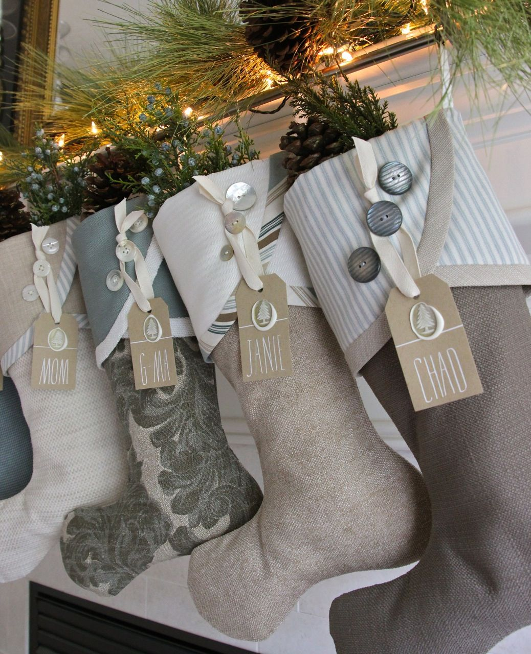 2014 Christmas Stocking Round-up | South House Designs - love the ...