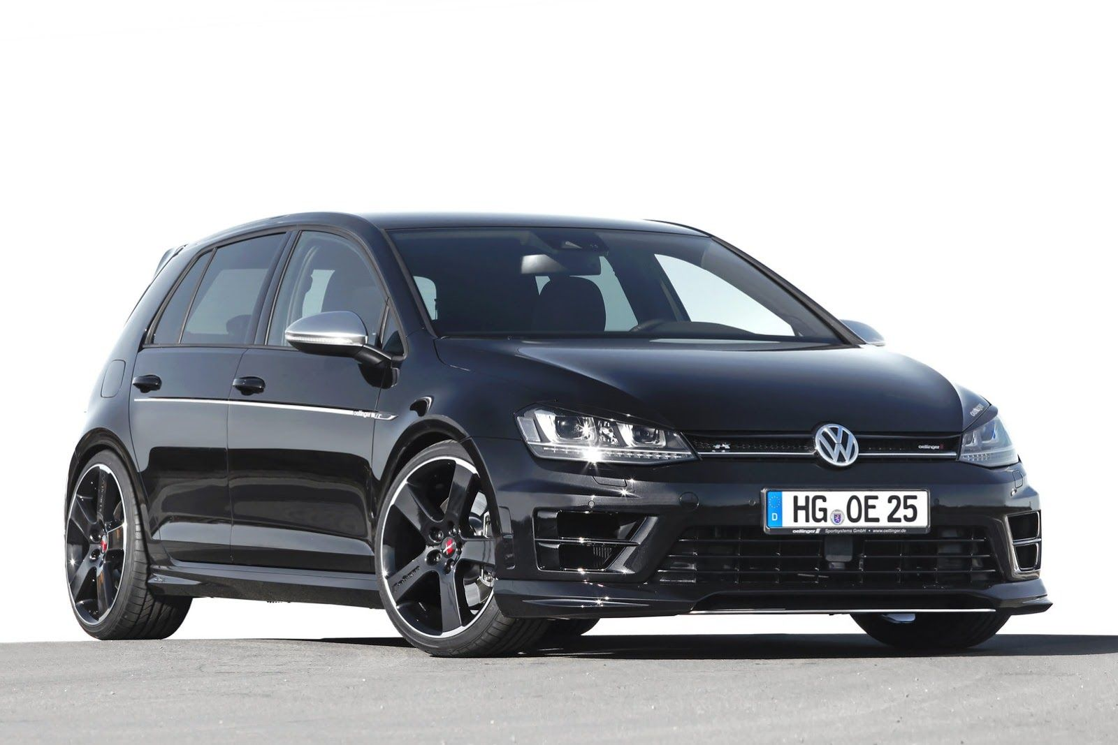 Oettinger has introduced their expanded tuning program for the volkswagen golf r they release a oettinger golf 7 r tuning program