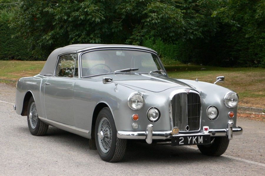 1963 Alvis TD21 Series II Drophead Coupe Maintenance/restoration of ...