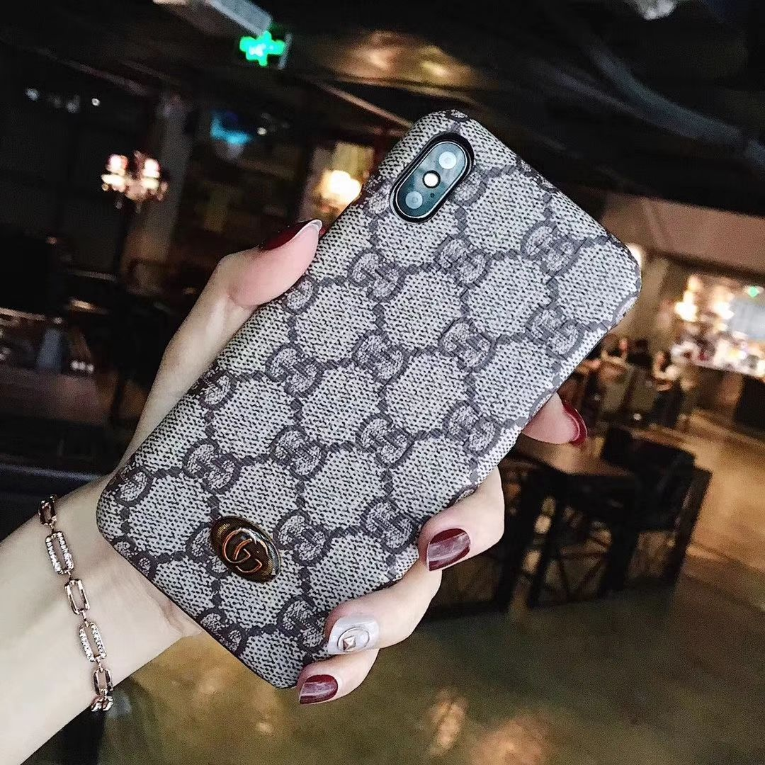 sports shoes 4f24a 2a6fc Gucci iPhone X Phone Case Shell Cover for iPhone 8 Capa | phone ...