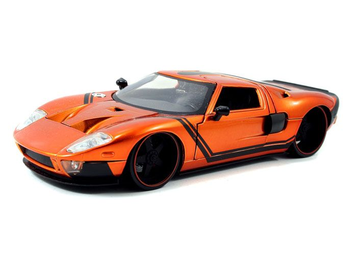 2005 Ford Gt Lopro 1 24 Copper W Extra Rims From Jada Toys Lopro