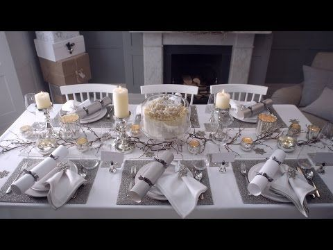 How To Lay A Festive Table The White Company Journal Festive Tables Christmas Table Settings Christmas Table