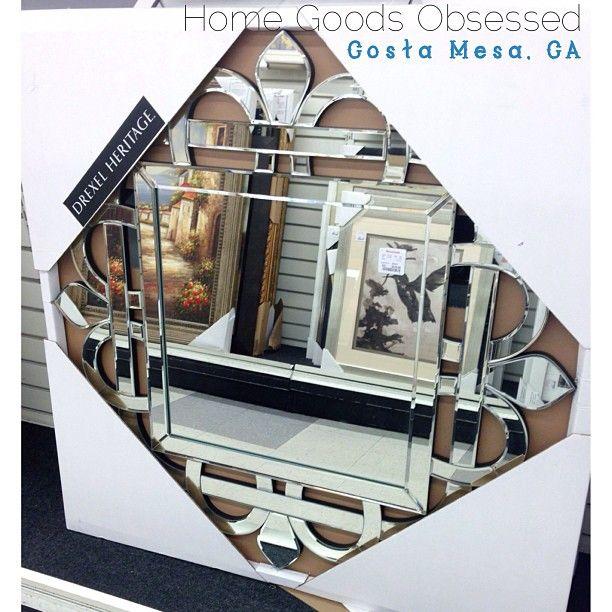 Gorg Drexel Heritage Mirror 129 99 Homegoodsobsessed Home Goods