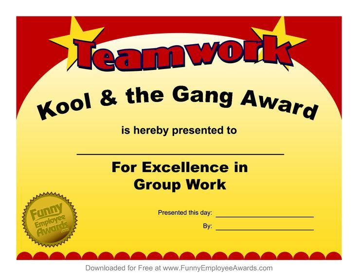 Awards Workplace Awards for Fun Funny Award Ideas for Employees - employee superlatives