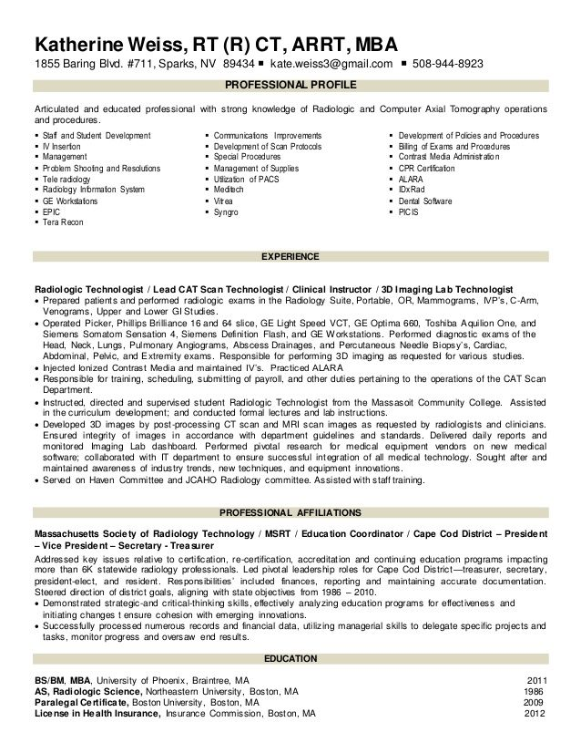 Resume For Radiologic Technologist Beauteous Resume Examples Example Cover Letter For Medical Technologist .