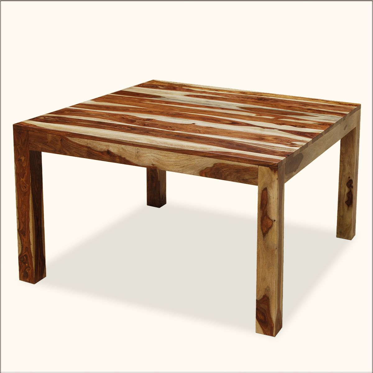 Square wood dining table - Kluane Solid Wood Counter Height Square Dining Table