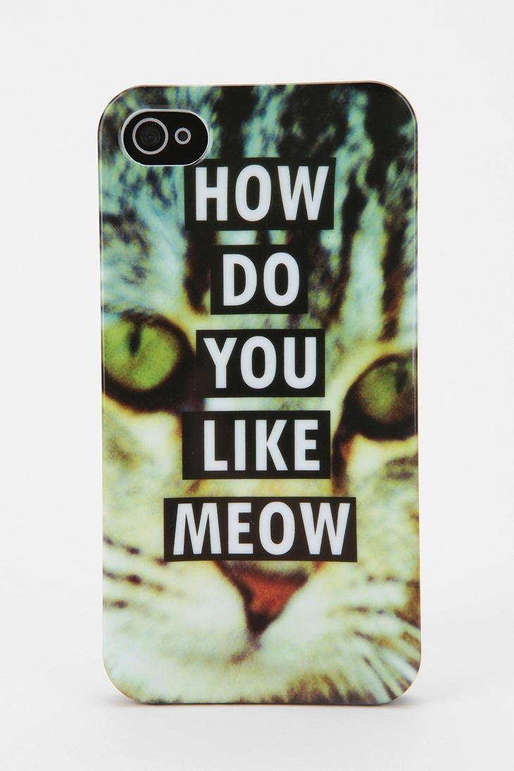 Fun Stuff Meow iPhone 4/4s Case #catober