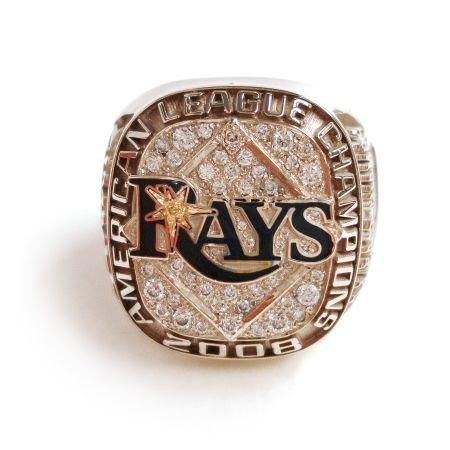 Rays American League Champs 2008 Ring Tampa Bay Rays Rays Baseball Tampa Bay