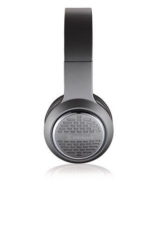 Blackweb Blackweb Premium Series Over The Ear Headphones Black Headphones Ear Black Headphones