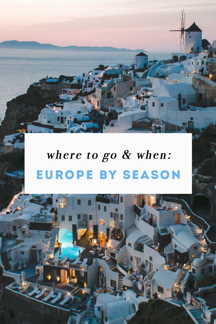 Europe by Season: Where to Go and When | Hope Engaged | Bloglovin' #travel #Europe Repinned by http://www.iconiceurope.com/