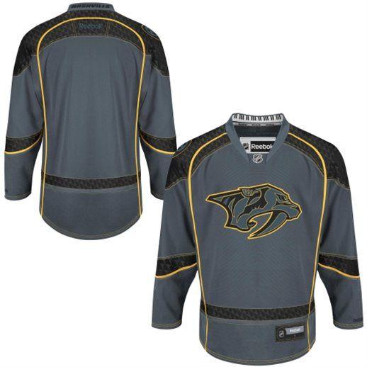 new style dd026 642b7 Reebok Nashville Predators Cross Check Premier Hockey Jersey ...