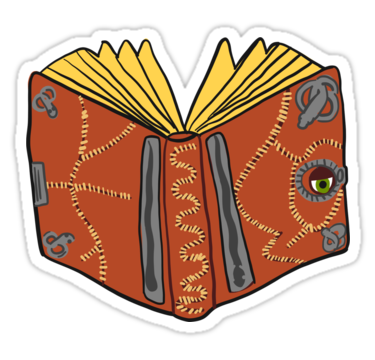 Hocus Pocus Book Stickers By Thingsdrawnbad Redbubble Hocus Pocus Book Hydroflask Stickers Stickers