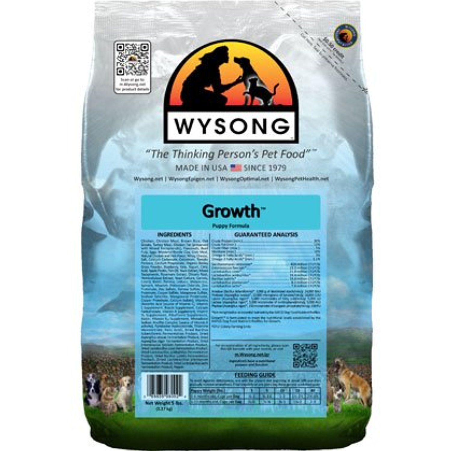 Wysong Growth Dry Dog Food 5lb You could get more